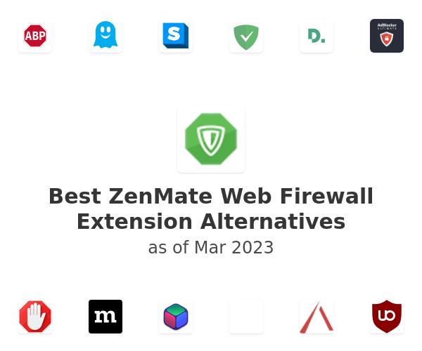 Best ZenMate Web Firewall Alternatives