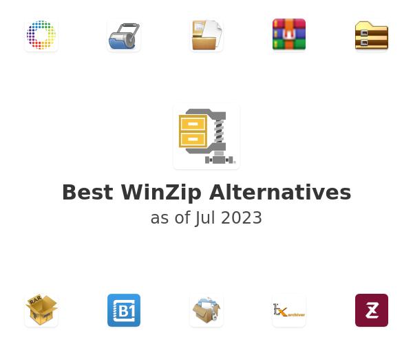 Best WinZip Alternatives