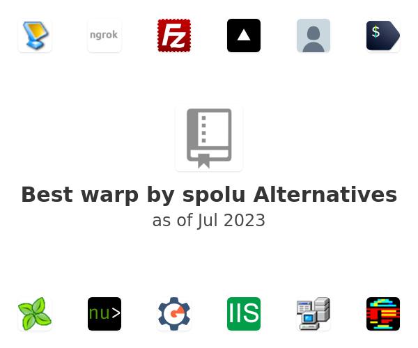 Best warp by spolu Alternatives