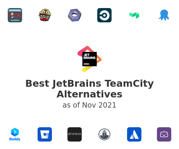 Best JetBrains TeamCity Alternatives