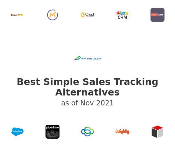 Best Simple Sales Tracking Alternatives