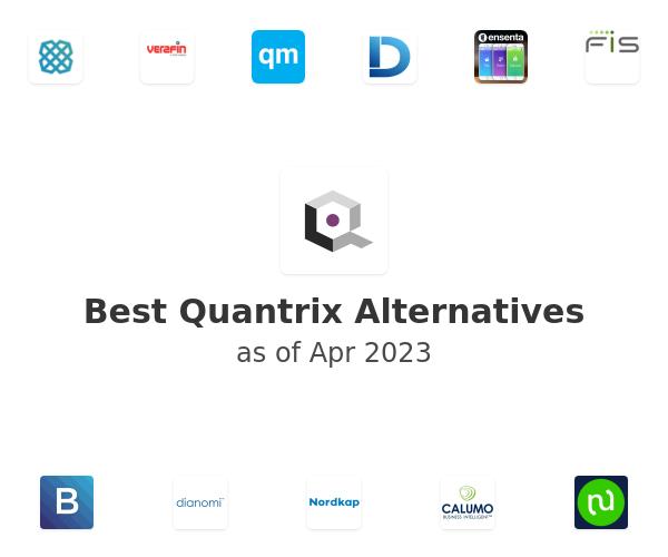 Best Quantrix Alternatives