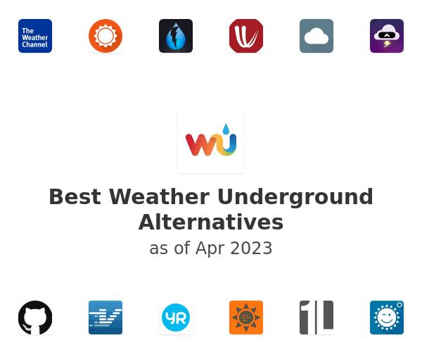 Best Weather Underground Alternatives