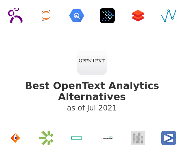 Best OpenText Analytics Alternatives