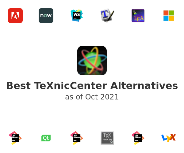 Best TeXnicCenter Alternatives
