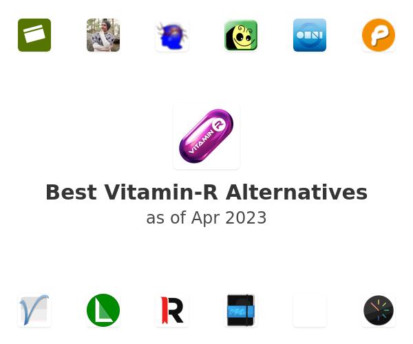 Best Vitamin-R Alternatives