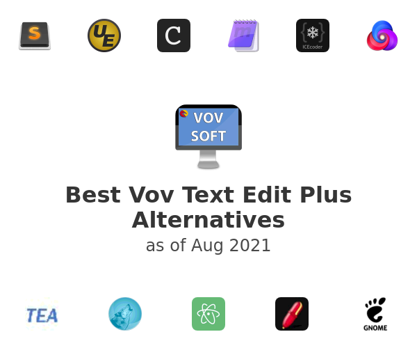 Best Vov Text Edit Plus Alternatives