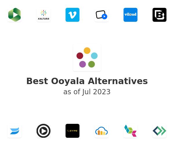 Best Ooyala Alternatives