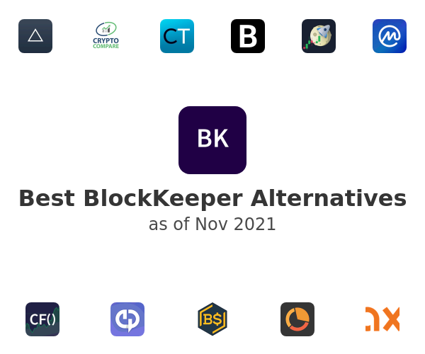 Best BlockKeeper Alternatives