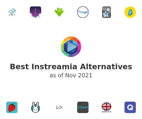 Best Instreamia Alternatives