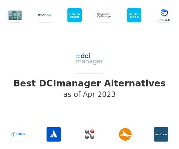 Best DCImanager Alternatives
