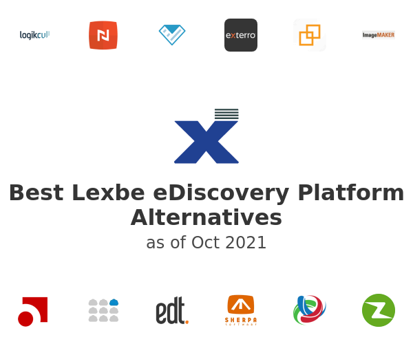 Best Lexbe eDiscovery Platform Alternatives