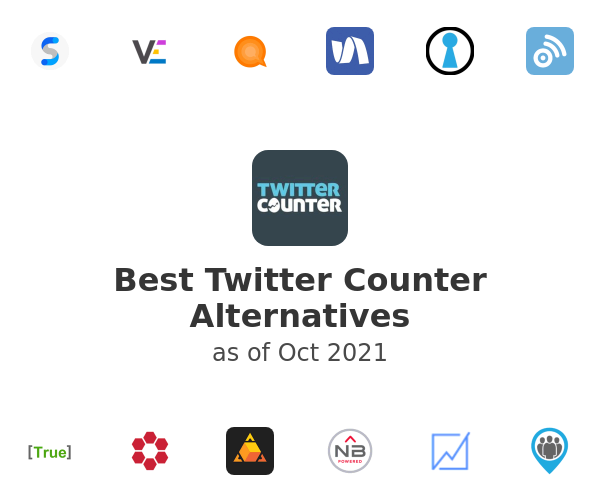 Best Twitter Counter Alternatives