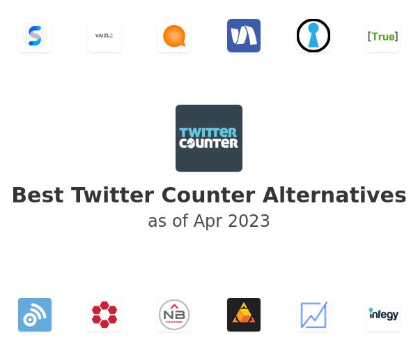 Best Twitter Counter Alternatives