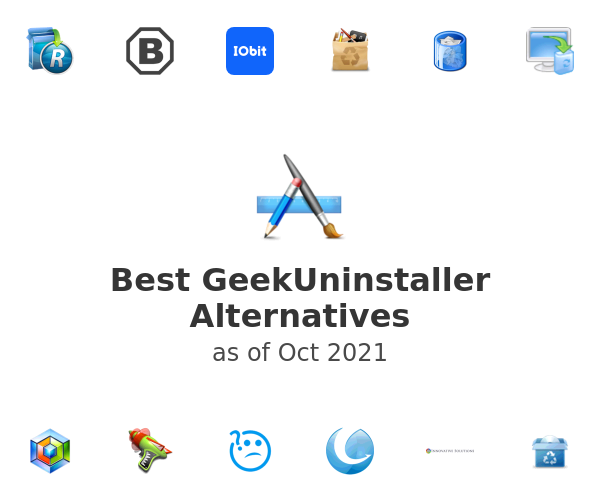 Best GeekUninstaller Alternatives