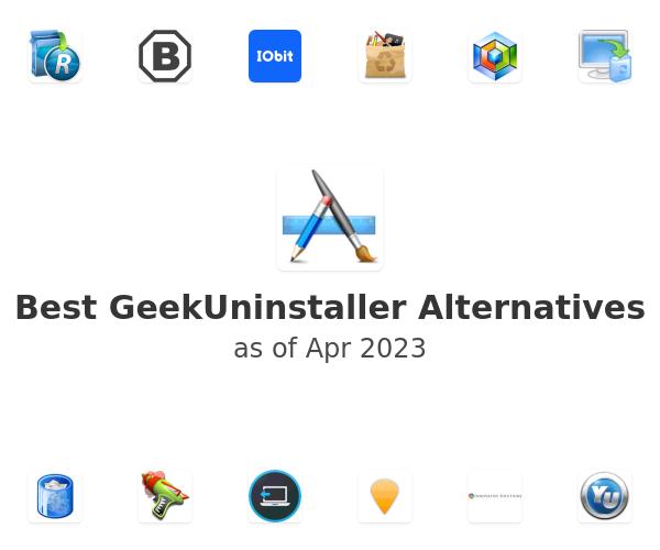Best GeekUninstaller Alternatives