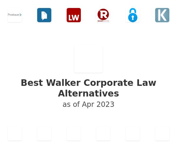 Best Walker Corporate Law Alternatives