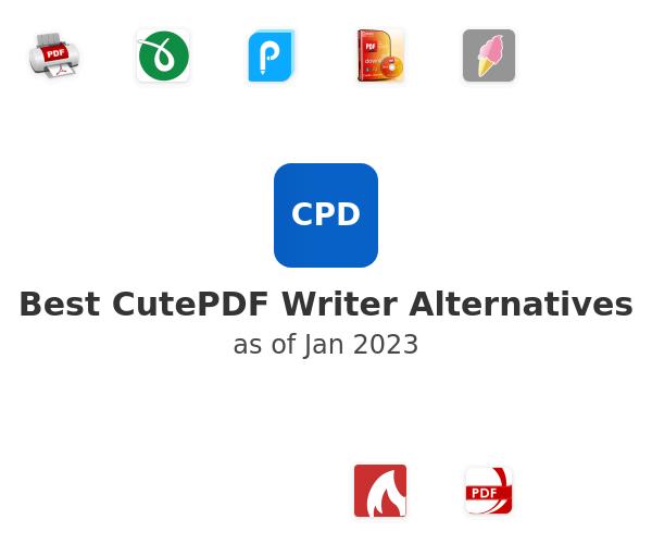 Best CutePDF Writer Alternatives
