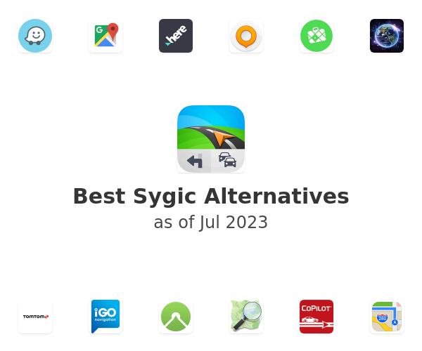 Best Sygic GPS Navigation Alternatives