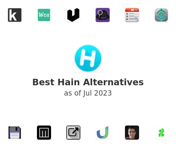 Best Hain Alternatives