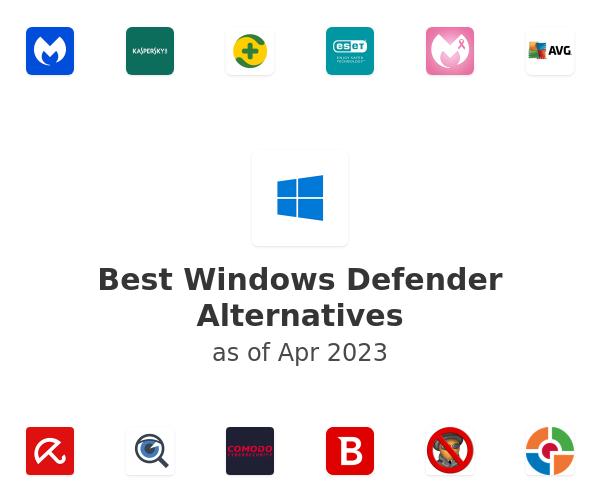 Best Windows Defender Alternatives