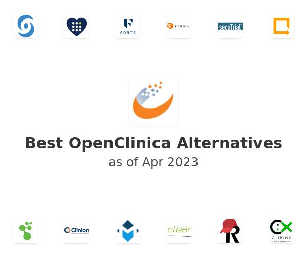 Best OpenClinica Alternatives
