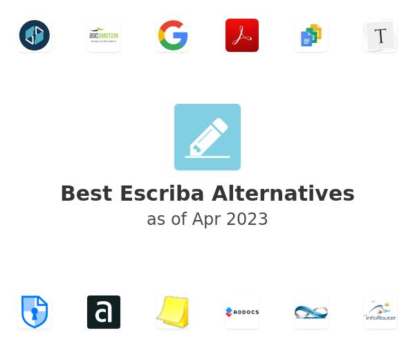 Best Escriba Alternatives