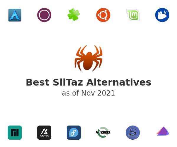 Best SliTaz Alternatives