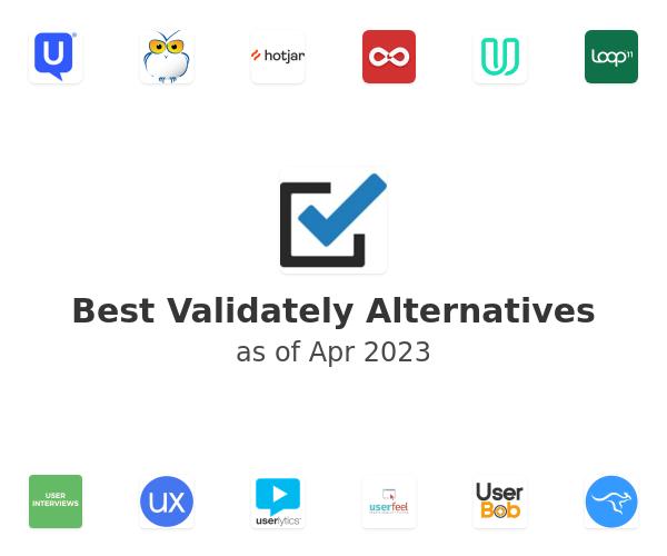 Best Validately Alternatives