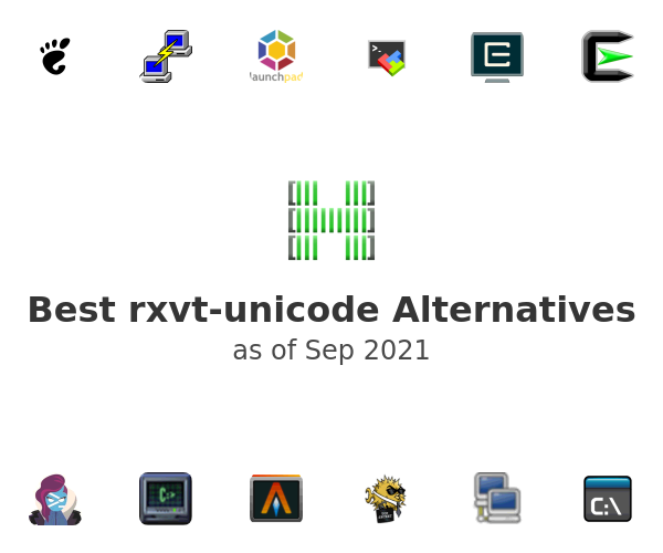 Best rxvt-unicode Alternatives