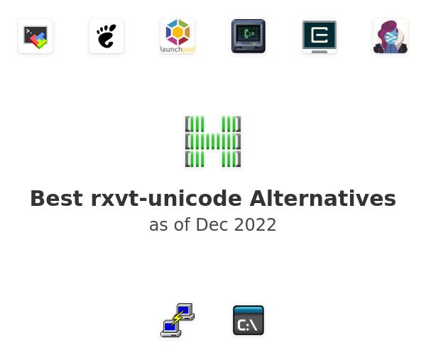Best rxvt-unicode Alternatives