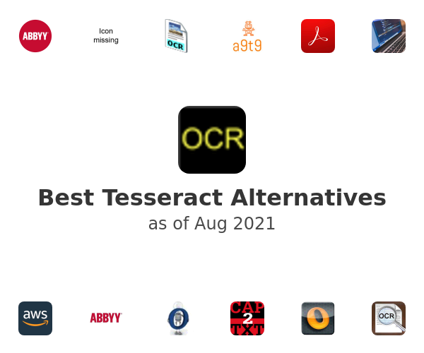 Best Tesseract Alternatives