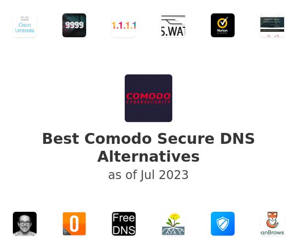 Best Comodo Secure DNS Alternatives