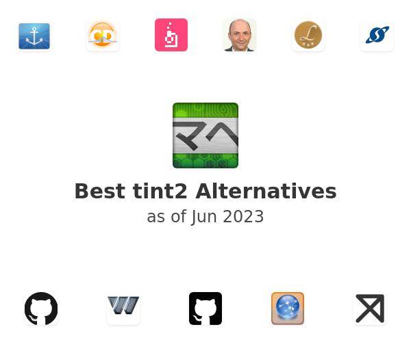 Best tint2 Alternatives