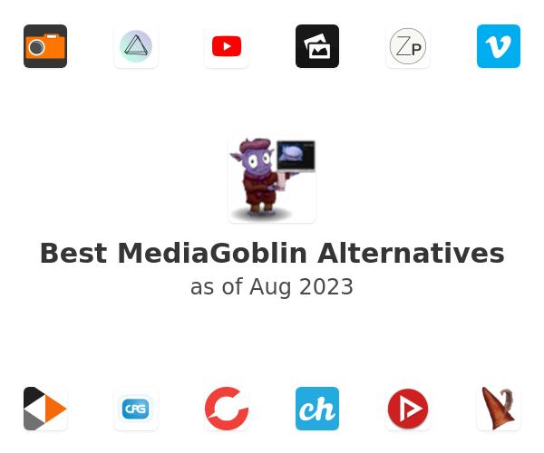 Best MediaGoblin Alternatives