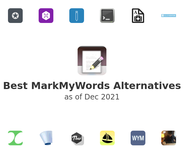 Best MarkMyWords Alternatives