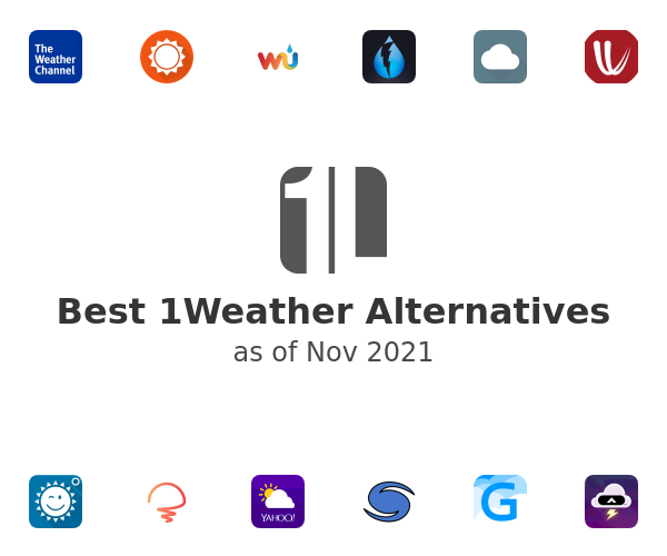 Best 1Weather Alternatives