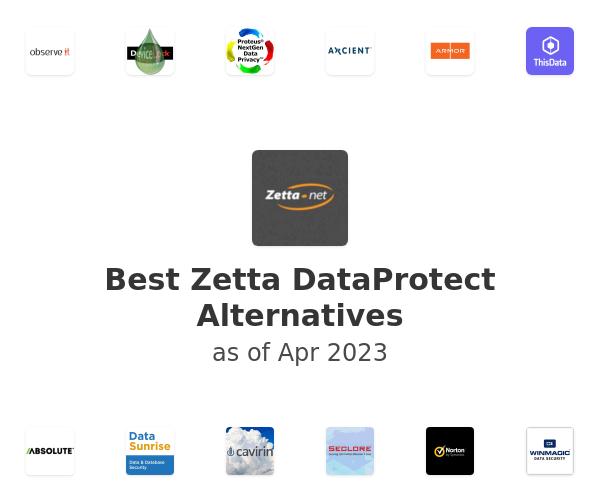Best Zetta DataProtect Alternatives