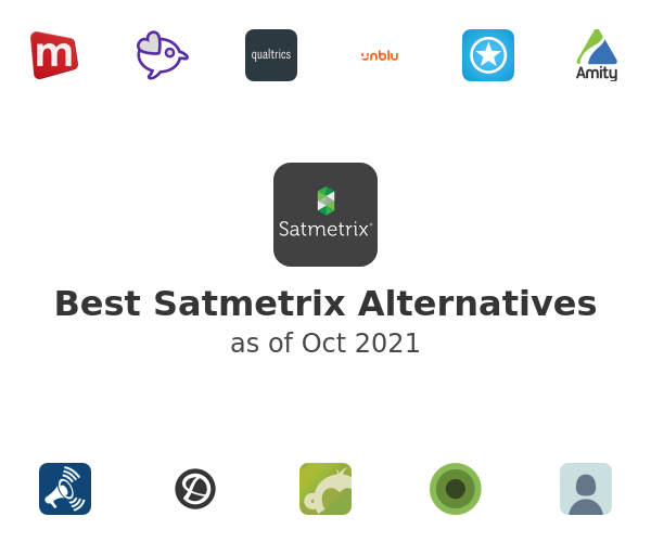 Best Satmetrix Alternatives
