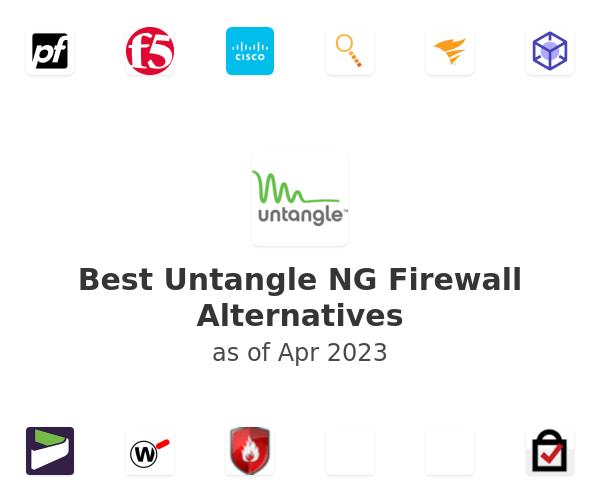 Best Untangle NG Firewall Alternatives