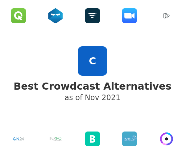 Best Crowdcast Alternatives