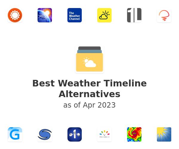 Best Weather Timeline Alternatives