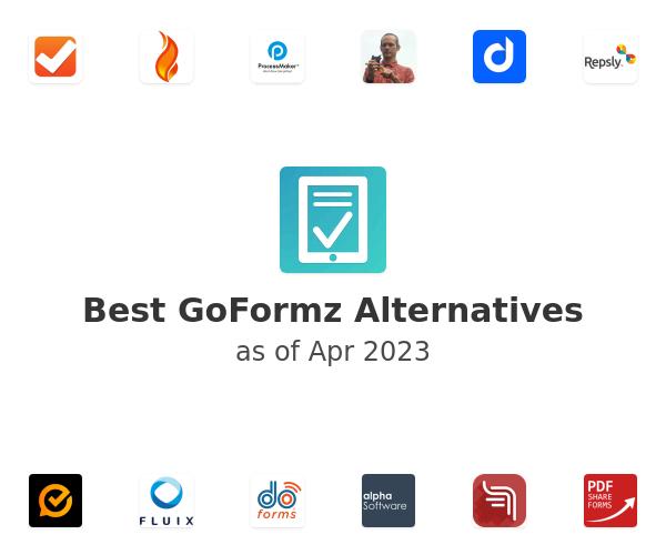 Best GoFormz Alternatives