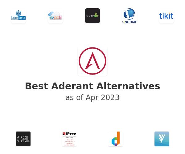 Best Aderant Alternatives