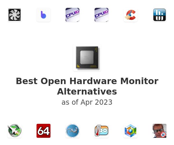 Best Open Hardware Monitor Alternatives
