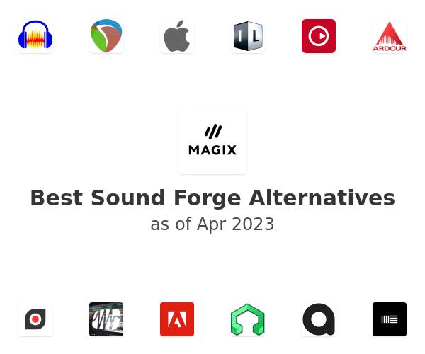Best Sound Forge Alternatives