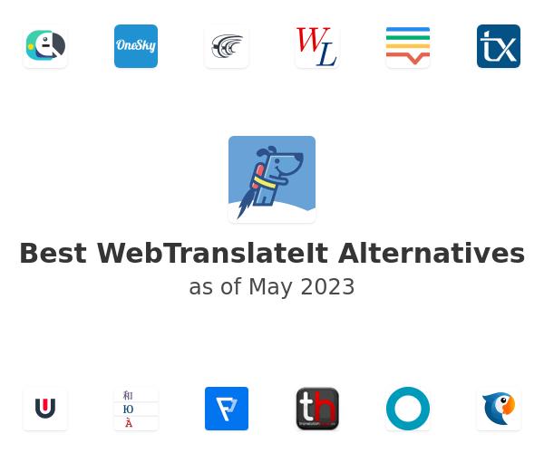 Best WebTranslateIt Alternatives