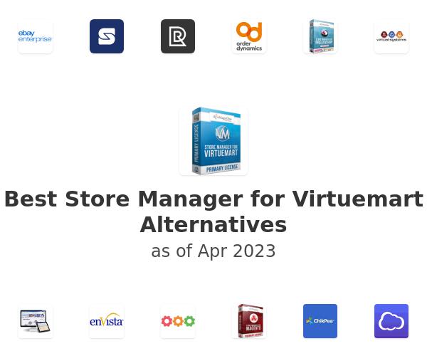 Best Store Manager for Virtuemart Alternatives