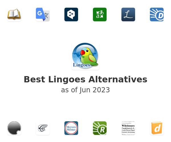 Best Lingoes Alternatives