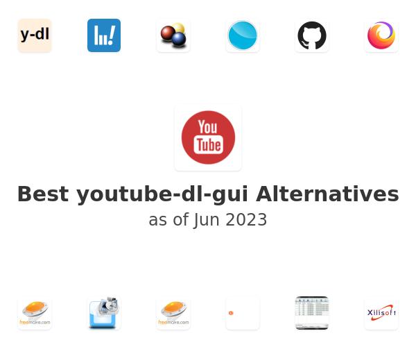 Best Youtube-DLG Alternatives